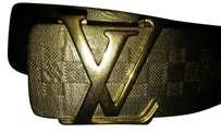 Louis Vuitton Damier Graphite belt limited edt