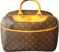 Louis Vuitton Lv Monogram Cosmetic Toiletry Ba Baby Diaper Brown Travel Bag