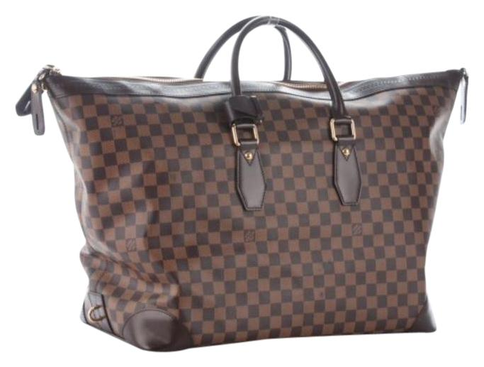 Louis Vuitton Vintage Vaslav Damier Ebene Travel Bag ...