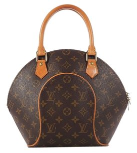 Louis Vuitton Gold Hardware Leather Satchel