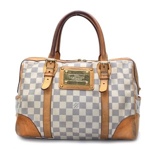 Louis Vuitton Hand Damier Azur N52001 Shoulder Bag