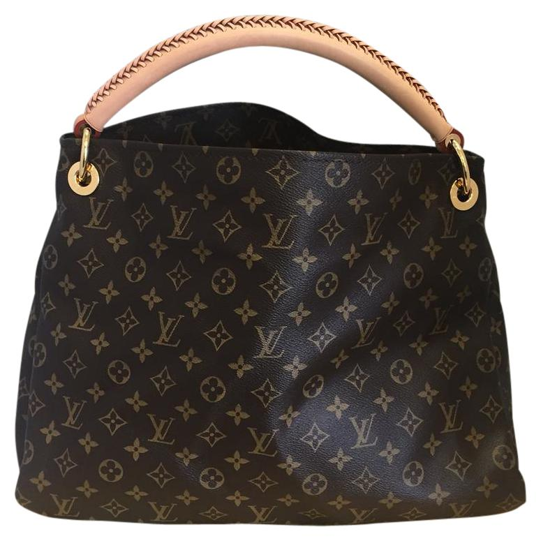Louis Vuitton Arsty Hobo Bags - Up to 70% off at Tradesy