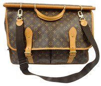 Louis Vuitton Ladies Travel Weekend Brown Travel Bag