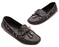 Louis Vuitton Monogram Black Flats