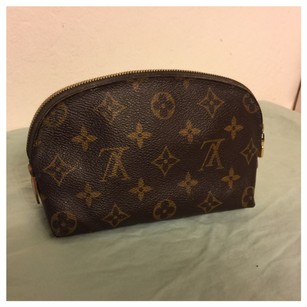 Louis Vuitton Louis Vuitton Authentic Monogram Pochette Cosmetique POUCH Cosmetic Bag Auth LV
