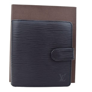 Louis Vuitton LOUIS VUITTON Bifold Epi Leather Wallet Purse