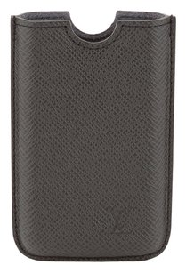 Louis Vuitton Louis Vuitton Black Taiga Etui IPhone Case 3G (Authentic Pre Owned)