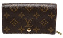 Louis Vuitton Louis Vuitton Brown Monogram Compact Wallet