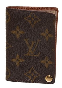 Louis Vuitton Louis Vuitton Brown Monogram Picture Holder Wallet
