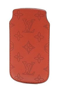 Louis Vuitton Louis Vuitton Clementine Mahina Leather Iphone 55s Soft Case