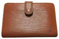 Louis Vuitton Louis Vuitton Epi Brown Leather Wallet