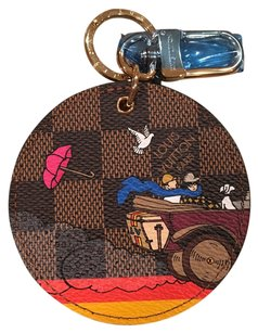 Louis Vuitton Louis Vuitton Evasion Damier Ebene Bag Charm Limited Edition