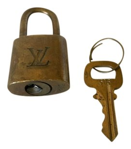 Louis Vuitton Louis Vuitton Lock Key #316 Brass