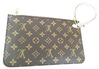 Louis Vuitton Louis Vuitton Neverfull pochette wristlet