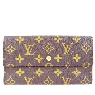 Louis Vuitton LOUIS VUITTON Trifold Wallet Monogram
