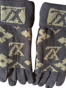 Louis Vuitton Louis Vuitton winter gloves