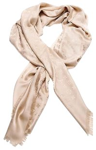 Louis Vuitton Louis Vuitton Dune Monogram Silk Wool Shawl Scarf
