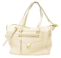Louis Vuitton Lumineuse Pm Tote in Cream White Empreinte Leather