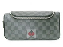 Louis Vuitton Lv Damier Graphite Canvas (Guaranteed Authentic) Travel Bag