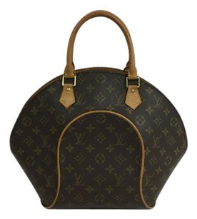 Louis Vuitton Lv Ellipse Mm Canvas Tote in Monogram