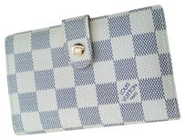 Louis Vuitton LV French Purse Damier Azur Coated Canvas
