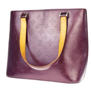 Louis Vuitton Mat Leather Shoulder Bag
