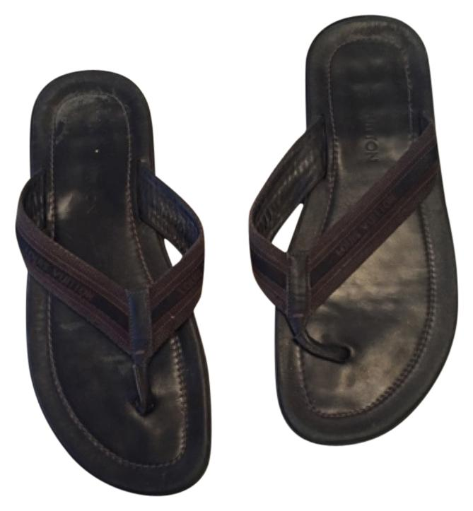 Louis Vuitton Mens Leather Sandals