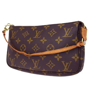 Louis Vuitton Monogram Leather Hand Baguette