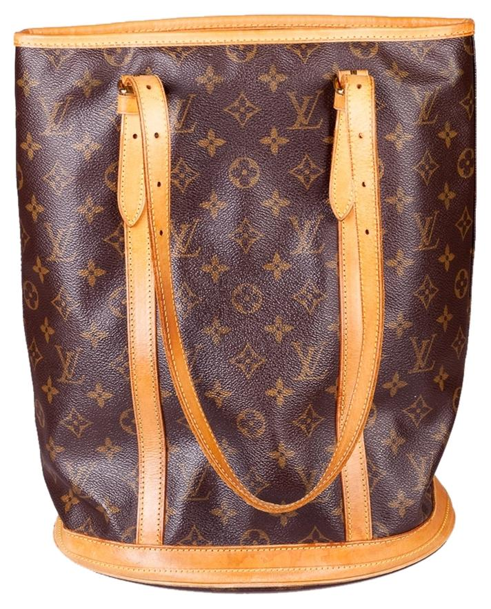 LOUIS VUITTON MONOGRAM BUCKET TOTE