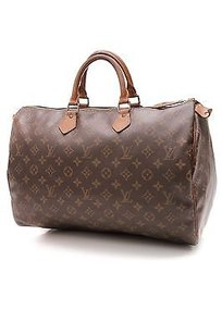 Louis Vuitton Vintage Satchel in Brown