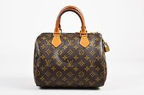 Louis Vuitton Beige Satchel in Brown