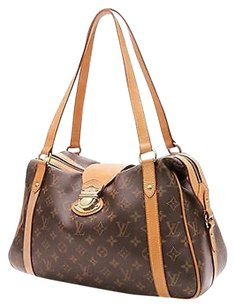 Louis Vuitton Monogram Canvas Stresa Pm Satchel in Brown