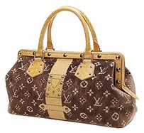 Louis Vuitton Limited Edition Satchel in Brown, leather