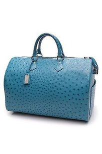 Louis Vuitton Special Order Satchel in Turquoise