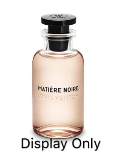Louis Vuitton Matiere Noire Eau de Parfum filled in 10ML Silver Purse Spray Only