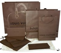 Louis Vuitton Small Louis Vuitton Handheld Shopping/ Gift Bag (Shipping Included)
