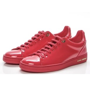 Louis Vuitton Sneakers Patent Leather pink Athletic