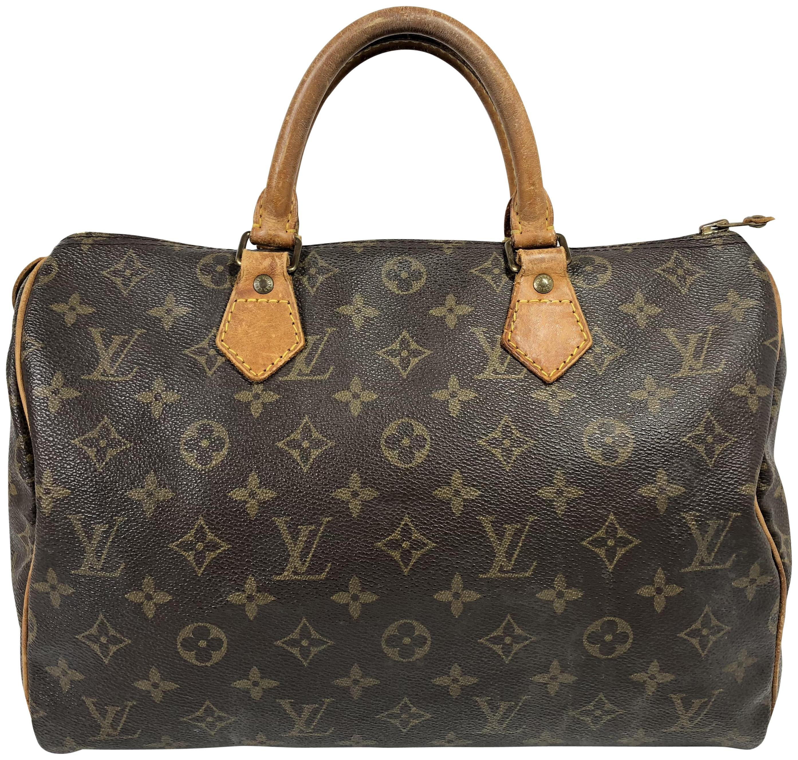 louis vuitton bags. louis vuitton speedy 30 satchel in monogram bags