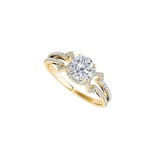 LoveBrightJewelry Conflict Free Diamond Engagement Ring In Yellow Gold