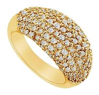 LoveBrightJewelry Cubic Zirconia Ring 14K Yellow Gold 1.75 CT Cubic Zirconia