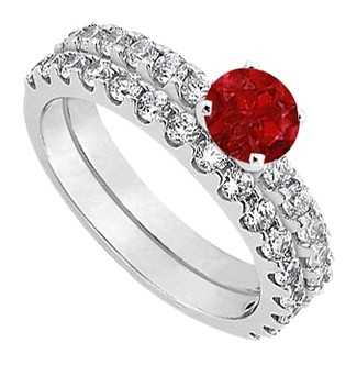 Lovebrightjewelry July Birthstone Ruby With Cz Engagement. Award Rings. December Birthstone Rings. Girl Name Engagement Rings. Thing Wedding Rings. Rare Stone Wedding Rings. Malayalee Engagement Rings. Perfect Wedding Rings. Miadora Engagement Rings