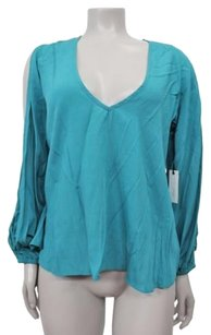 Lovers + Friends Top Teal