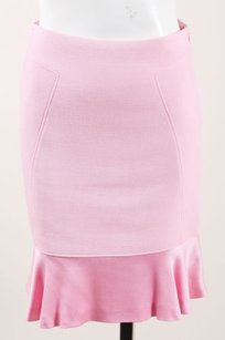 Luca Luca Light Wool Skirt Pink