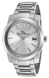 Lucien Piccard Bordeaux Stainless Steel Silver-Tone Dial