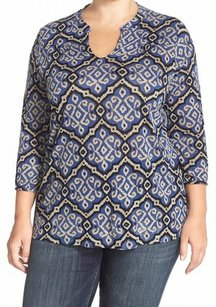 Lucky Brand 3/4 Sleeve Top