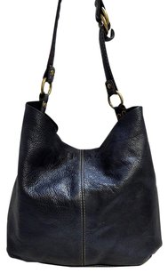 Lucky Brand Leather Slouchy Hobo Bag