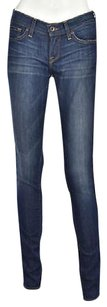 Lucky Brand Lucky Charlie Womens Blue Skinny 025 Cotton Casual Pants Denim Skinny Jeans