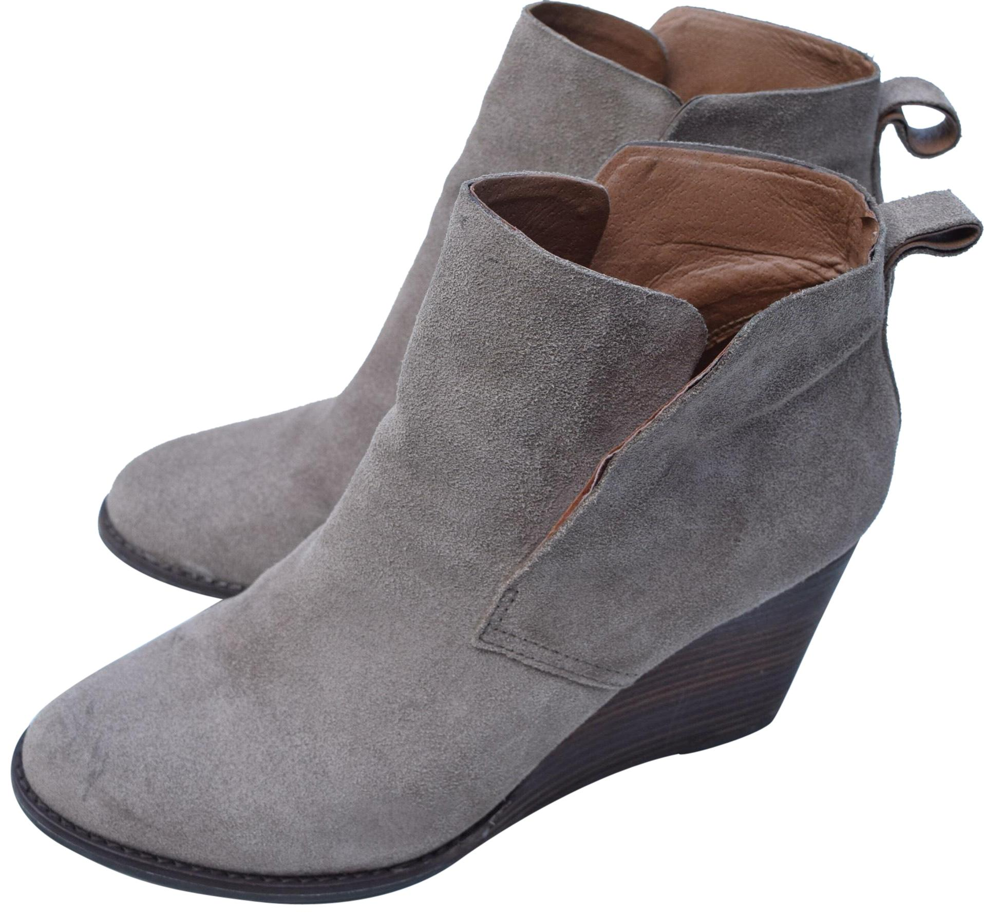 39e2f9c30a44 Lucky Brand Taupe Yonianna Boots Booties Size Size Size US 9 Regular ...