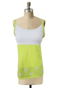 Lululemon Athletic Elevate Top White,yellow