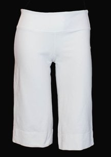 Lululemon Lululemon White Stretch Jersey Bermuda Walking Yoga Exercise Shorts Xlnt